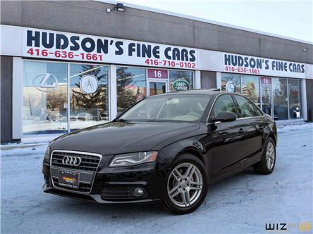 2010 Audi A4 2.0T Premium (Stk: 16358) in Toronto - Image 1 of 30