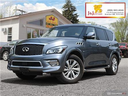 2016 Infiniti QX80 Base 8 Passenger (Stk: JB19033) in Brandon - Image 1 of 27