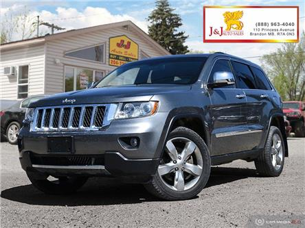 2013 Jeep Grand Cherokee Overland (Stk: JB19028) in Brandon - Image 1 of 27