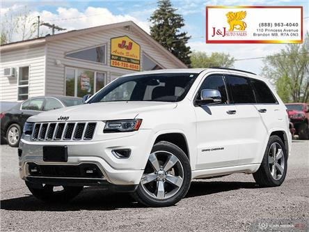 2014 Jeep Grand Cherokee Overland (Stk: JB18073) in Brandon - Image 1 of 27