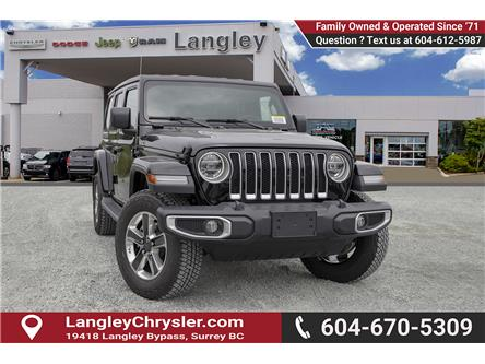 2019 Jeep Wrangler Unlimited Sahara (Stk: K647513) in Surrey - Image 1 of 23