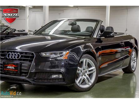 2015 Audi A5 2.0T Technik (Stk: ) in Oakville - Image 1 of 37