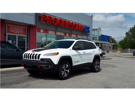 2018 Jeep Cherokee Trailhawk (Stk: JD500451) in Sarnia - Image 1 of 5