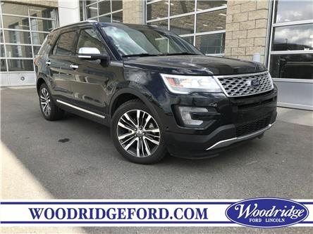 2017 Ford Explorer Platinum (Stk: K-312A) in Calgary - Image 1 of 23