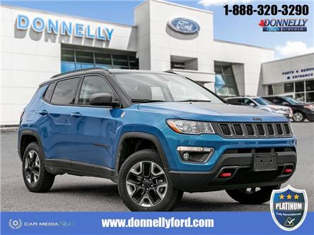 2018 Jeep Compass Trailhawk (Stk: PLDUR6161) in Ottawa - Image 1 of 30