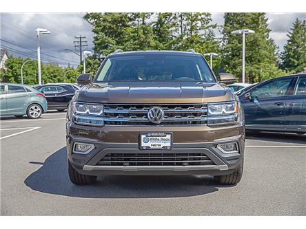 2019 Volkswagen Atlas 3.6 FSI Highline (Stk: KA539687) in Vancouver - Image 2 of 28