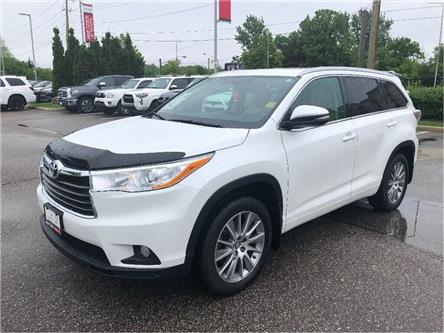 2016 Toyota Highlander XLE (Stk: 68825a) in Vaughan - Image 1 of 17
