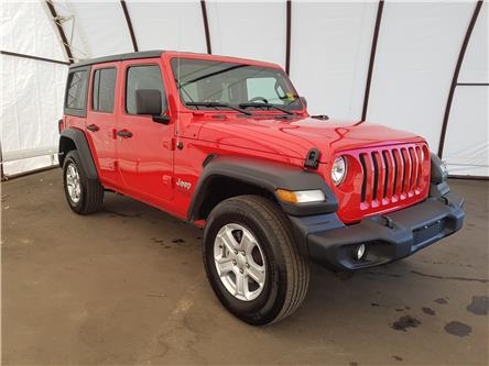 2018 Jeep Wrangler Unlimited Sport (Stk: 2010012) in Thunder Bay - Image 1 of 27