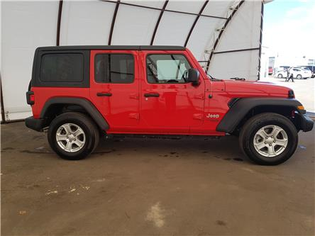 2018 Jeep Wrangler Unlimited Sport (Stk: 2010012) in Thunder Bay - Image 2 of 27