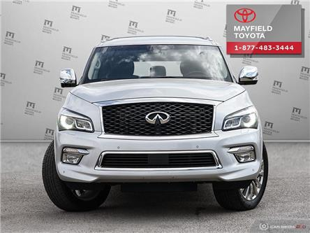 2017 Infiniti QX80 Base 7 Passenger (Stk: 194099) in Edmonton - Image 2 of 20