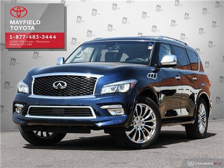 2017 Infiniti QX80 Base 8 Passenger (Stk: 194098) in Edmonton - Image 1 of 28