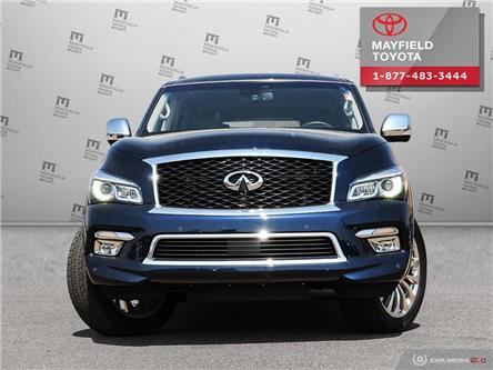 2017 Infiniti QX80 Base 8 Passenger (Stk: 194098) in Edmonton - Image 2 of 28