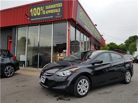 2014 Hyundai Elantra GLS (Stk: DE19201) in Ottawa - Image 1 of 15