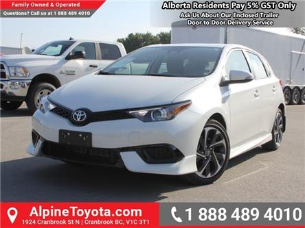 2018 Toyota Corolla iM Base (Stk: J573750) in Cranbrook - Image 1 of 16