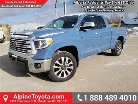 2019 Toyota Tundra Limited 5.7L V8 (Stk: X813922) in Cranbrook - Image 1 of 15