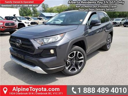 2019 Toyota RAV4 Trail (Stk: C001253) in Cranbrook - Image 1 of 18
