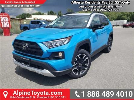 2019 Toyota RAV4 Trail (Stk: W053511) in Cranbrook - Image 1 of 17