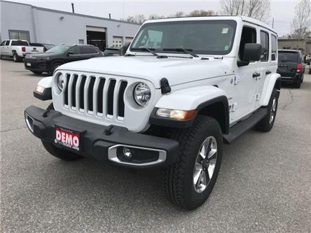 2019 Jeep Wrangler Unlimited Sahara (Stk: W18660) in Newmarket - Image 1 of 23