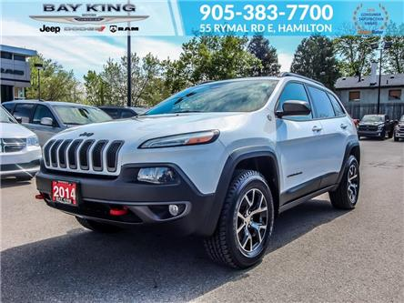 2014 Jeep Cherokee Trailhawk (Stk: 6744) in Hamilton - Image 1 of 22