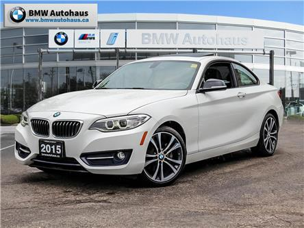 2015 BMW 228i xDrive (Stk: P8850) in Thornhill - Image 1 of 18