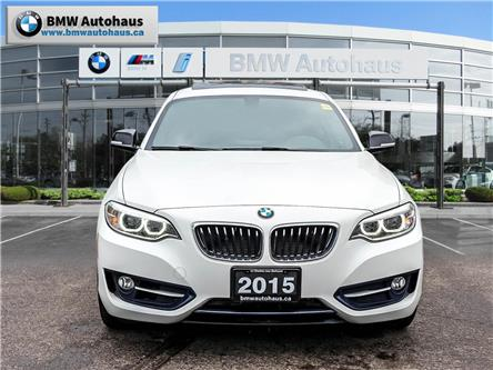2015 BMW 228i xDrive (Stk: P8850) in Thornhill - Image 2 of 18