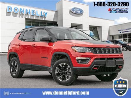 2018 Jeep Compass Trailhawk (Stk: PLDUR6162) in Ottawa - Image 1 of 30