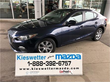 2015 Mazda Mazda3 GX (Stk: U3794) in Kitchener - Image 1 of 26