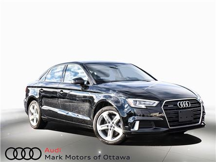 2018 Audi A3 2.0T Komfort (Stk: PM342) in Nepean - Image 1 of 24