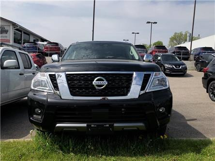 2019 Nissan Armada Platinum (Stk: K9581052) in Whitby - Image 2 of 5