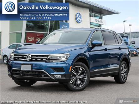 2019 Volkswagen Tiguan Highline (Stk: 21398) in Oakville - Image 1 of 22