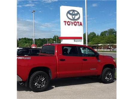 2017 Toyota Tundra SR5 Plus 5.7L V8 (Stk: p19047) in Owen Sound - Image 2 of 4