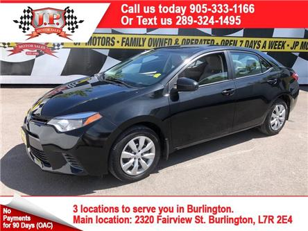 2016 Toyota Corolla  (Stk: 47130r) in Burlington - Image 1 of 23