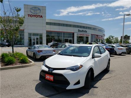 2018 Toyota Corolla LE (Stk: P1854) in Whitchurch-Stouffville - Image 1 of 12