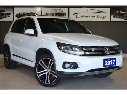 2017 Volkswagen Tiguan Highline (Stk: AUTOLAND- E7008A) in Thornhill - Image 2 of 32