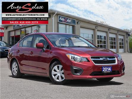 2014 Subaru Impreza AWD (Stk: 14ITMR7) in Scarborough - Image 1 of 27