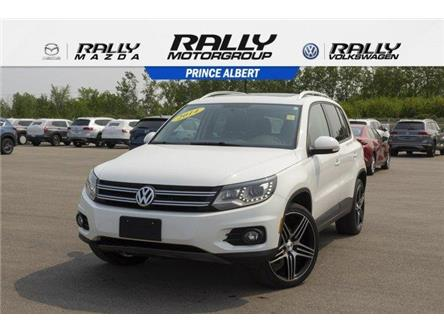 2014 Volkswagen Tiguan Highline (Stk: V874) in Prince Albert - Image 1 of 11