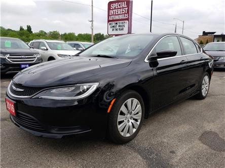 2016 Chrysler 200 LX (Stk: 119141) in Cambridge - Image 1 of 21