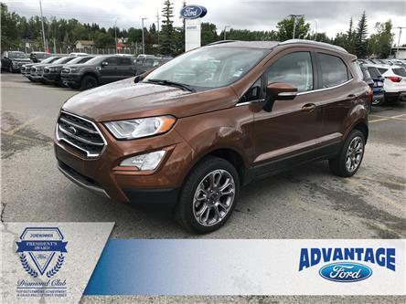 2019 Ford EcoSport Titanium (Stk: K-496) in Calgary - Image 1 of 5