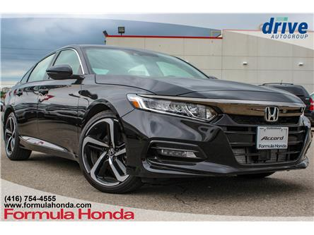 2019 Honda Accord Sport 1.5T (Stk: 19-0322D) in Scarborough - Image 1 of 28