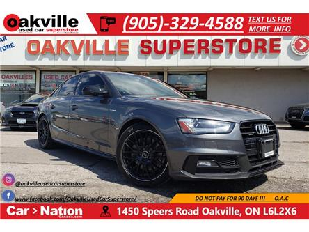 2015 Audi A4 2.0T   COMP PKG   NAV   B/U CAM   SUNROOF (Stk: P12249) in Oakville - Image 1 of 22