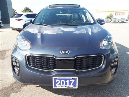 2017 Kia Sportage SX Turbo (Stk: L1025A) in Milton - Image 2 of 12