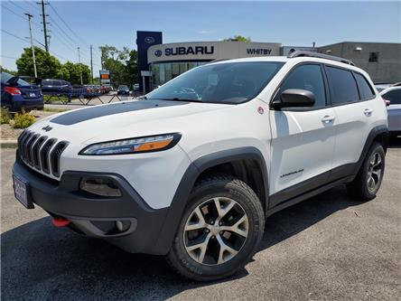 2017 Jeep Cherokee Trailhawk (Stk: 19S853AA) in Whitby - Image 1 of 26