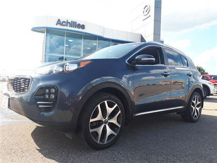2017 Kia Sportage SX Turbo (Stk: L1025A) in Milton - Image 1 of 12