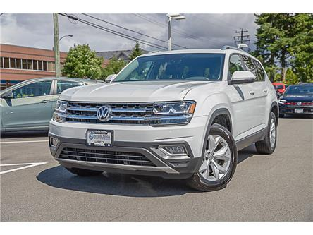 2018 Volkswagen Atlas 3.6 FSI Highline (Stk: KA518517A) in Vancouver - Image 1 of 24