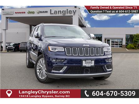 2018 Jeep Grand Cherokee Summit (Stk: EE909510) in Surrey - Image 1 of 30