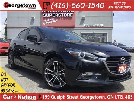 2018 Mazda Mazda3 GT | 6 SPEED | NAV | CAMERA | SUNROOF | RIMS (Stk: P12258) in Georgetown - Image 1 of 28