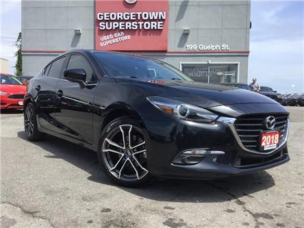 2018 Mazda Mazda3 GT | 6 SPEED | NAV | CAMERA | SUNROOF | RIMS (Stk: P12258) in Georgetown - Image 2 of 28