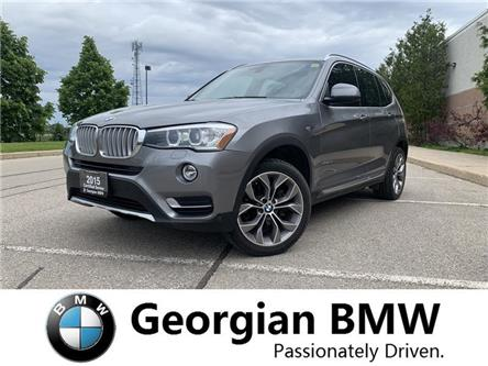 2015 BMW X3 xDrive28i (Stk: P1499) in Barrie - Image 1 of 19