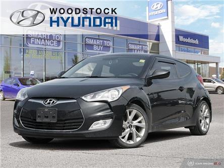 2016 Hyundai Veloster SE (Stk: KA19060A) in Woodstock - Image 1 of 27