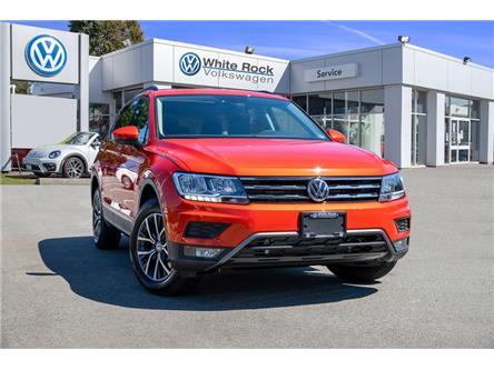 2019 Volkswagen Tiguan Comfortline (Stk: KT146746) in Vancouver - Image 1 of 29